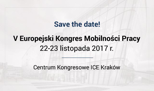 V Europejski Kongres Mobilności Pracy – znamy dokładną datę!